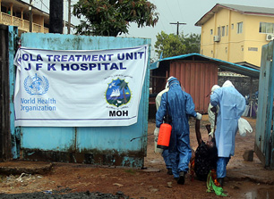 Responding to the Ebola epidemic – What would Jesus do?