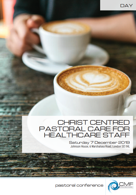 Christ Centred Pastoral Care for Healthcare Staff
