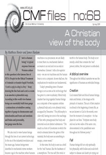 cmf file 68 (2019) - A Christian view of the body