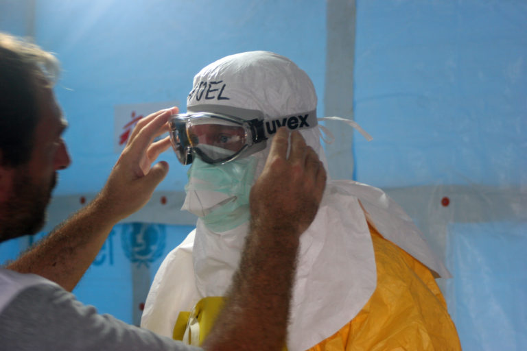 Blog - Weathering the Ebola storm