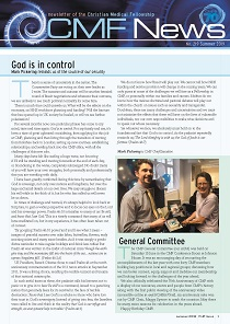 ss CMF news - Summer 2019,  God is in control