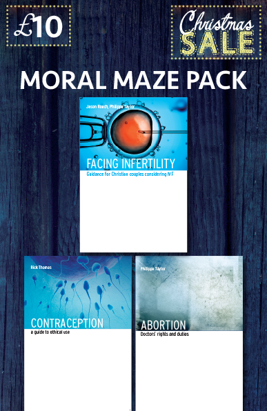 Christmas Special The Moral Maze Pack - £10.00