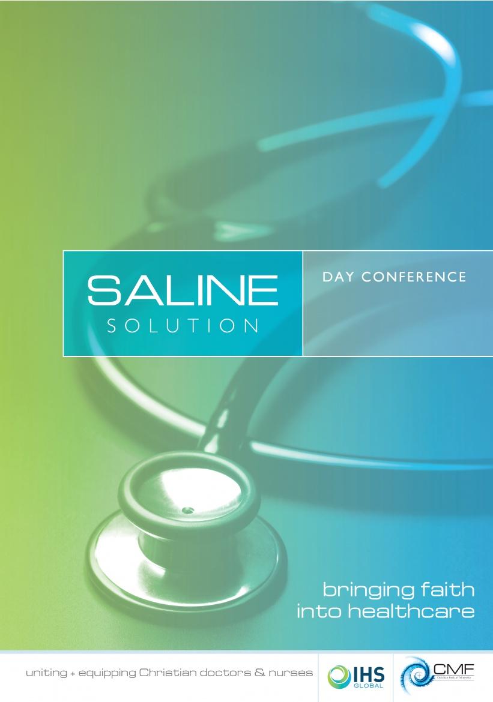 Saline Solution - Leicester